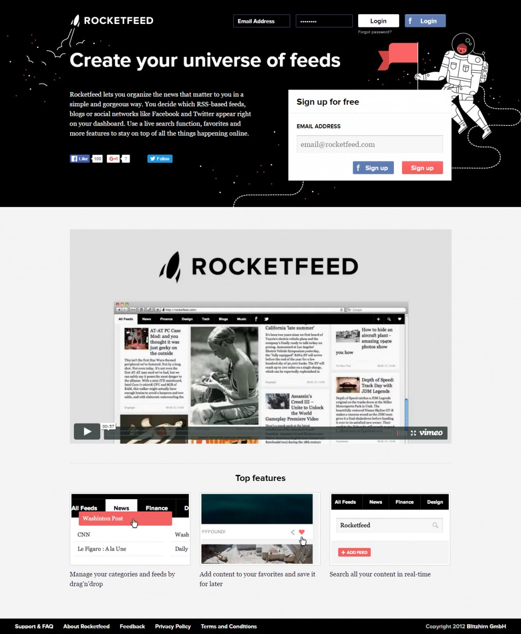 Rocketfeed