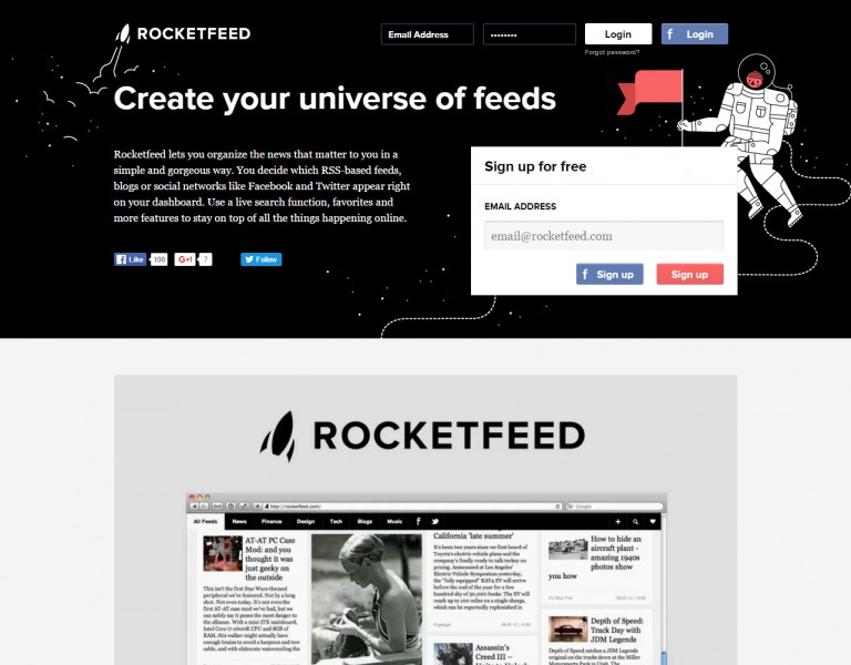 Rocketfeed